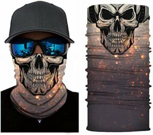 «N/A» Foulard 3D multifonction – Coupe-vent – Masque de moto – Masque de ski – Masque tempête – Masque de snowboard – Chaud – Pour Halloween