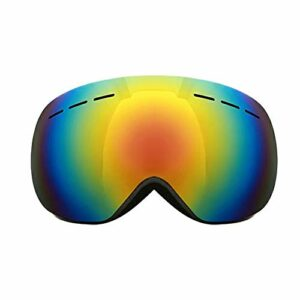 N/V Lunettes de ski pour adulte double anti-buée et anti-éblouissement