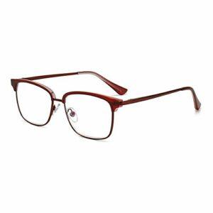 Reading glasses Box Hommes et Femmes Lunettes de Lecture Portables Confortables Lunettes de Lecture Anti-Bleu HD