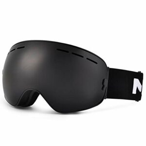 RSTJ-Sjef 100% des Lunettes de Ski de Protection des Hommes UV400 et des Femmes, des Lunettes Alpinisme pour Les Hommes et Les Femmes avec des Lunettes équipées de cocaïne