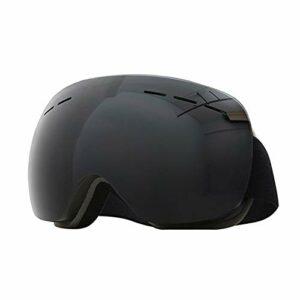 RSTJ-Sjef Anti-Brouillard, du Vent et des Verres UV400 ultraviolets, pour Adultes et Adolescents Ski, équitation Moto et en Hiver Sports de Plein air des Lunettes de Protection