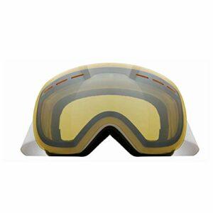RSTJ-Sjef des Lunettes De Ski De Vitesse, À Double Couche Lunettes d'alpinisme Moto Anti-Buée, Miroir Anti-Vent avec Fonction De Protection, d'un Miroir Anti-Éblouissement