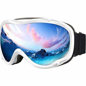 RSTJ-Sjef Matériel de Ski, Lunettes de Protection, Anti-buée Double Couche et Anti-UV, l'alpinisme d'hiver et Les Hommes et Les Femmes de Ski Lunettes de Protection Lunettes