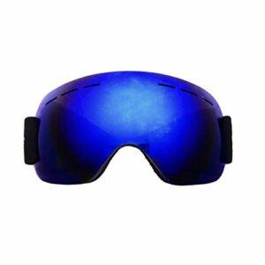 SYFO Lunettes de Ski d'hiver Masque Anti-buée UV400 Grandes Lunettes de Ski Snowboard Hommes Femmes Lunettes (Color : L)