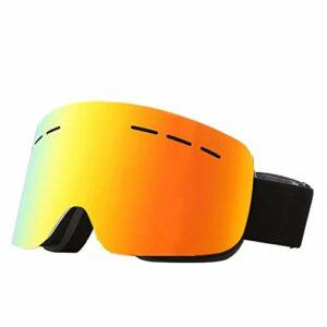 BDwantan Cadre Masque De Ski TPU Double Anti-buée Film Réel CylinderCocker Myopie en Plein Air Cadeaux d'escalade for Les Femmes des Hommes d'hiver Équipement Sportif