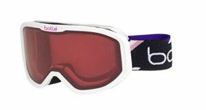 Bollé Inuk Masques de ski Bébé Unisexe, White Purple Matte/Vermillon Cat.2, Extra Small