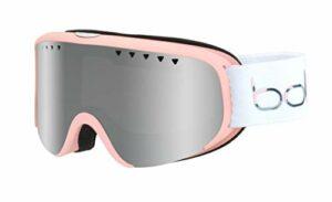 Bollé – SCARLETT – Masque de Ski – Femme – Blanc Mat & Rose – S/M