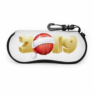 Boule de sport de mode 2019 étui à lunettes de voyage étui à lunettes hommes lumière Portable néoprène fermeture à glissière mince étui à lunettes