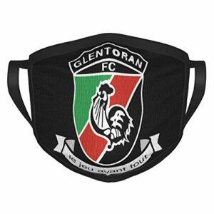 FlonzGift Glentoran Logo Ma-sk Masque de moto pour la pêche, la chasse, la course à pied, le ski