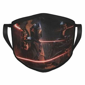 FlonzGift Star Wars Ma-sk Masque de moto anti-UV pour la pêche, la chasse, la course à pied, le ski