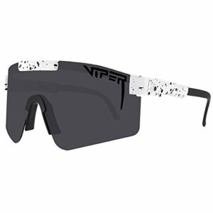 GQFGYYL-QD Pit Viper Sports Lunettes de Soleil Polarisées pour Hommes et Femmes Cyclisme Course Conduite Pêche Lunettes de Golf,C10