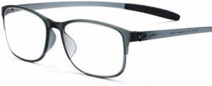 Lunettes de lecture Lunettes de lecture, adhésif titane plastique monture de lunettes de téléphone anti-bleu clair mobiles, lecteurs Confort charnière printemps, for hommes / femmes, des lunettes