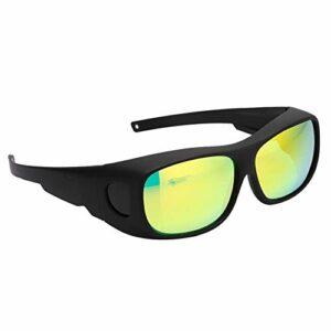 Lunettes de protection LED Grow Room Lunettes UV Polarisation pour tente serre hydroponique lumière végétale protection des yeux