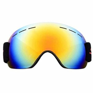 Lunettes de Ski de Plein air Anti-Brouillard Big Double Lunettes de Ski
