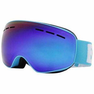 Lunettes de Ski pour Enfants Verres Anti-Brouillard UV400