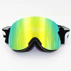 Masque de Ski Double UV400 UV400 Verres Clear Retina