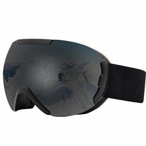 Miroir de Ski Double UV400 Masque de Ski Anti-buée UV400