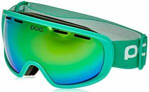 POC Fovea Mid Masque de Ski Unisexe, Adulte Mixte, 40407, Vert Fluo, One