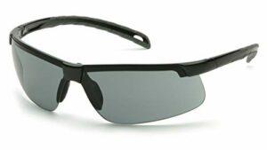 Pyramex Ever-Lite léger Lunettes de sécurité, Mixte, Black Frame/Gray-Anti-Fog Lens