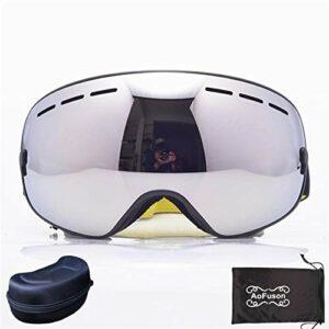 Ski Lunette Protective Goggles 2020 Goggles de Snowboard de Ski.UV400 Big Sphérical Masque Lunettes Ski Hommes Femmes Grande Vision Profession Snow Ski Eyewear SCI (Couleur : NO.11)