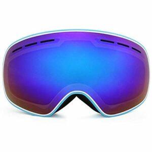 Ski Lunette Protective Goggles Nouveaux arrivées Lunettes de Ski Double Couches UV400 Masque de Ski Anti-buée Lunettes de Ski Ski Hommes Femmes Winter Snowboard Snowboard Snowboard R18