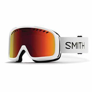 SMITH Project Masque de Ski Mixte Adulte, Blanc, Taille Unique