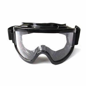 Verres de Ski Anti-poussière de Miroir Transparent