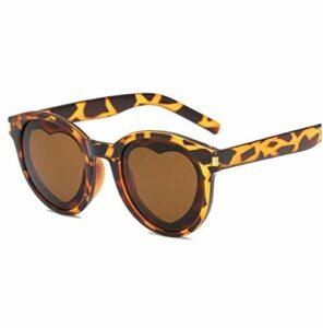 YHHZW Love Womens Sunglasses Candy Color Personality Lunettes De Vue Pour Femmes Lunettes Unisexes