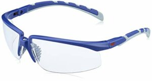 3M 3M-OO-SOLUS2001AS Lunettes de protection pour les yeux et le visage Taille universelle Transparent