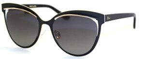 Christian Dior – DIOR INSPIRED, Oeil de chat, titane, femme, BLACK WHITE ROSE GOLD/DARK GREY SHADED(JB1/HD), 54/19/145