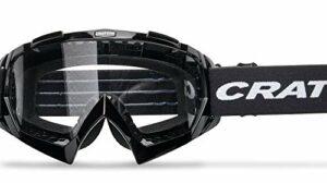 Cratoni C-Rage Lunettes de VTT Lunettes de sport Lunettes de vélo (Noir)