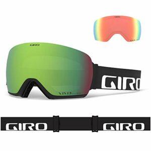 Giro Article Masque de Ski/Snow, Unisexe Adulte, Black Wordmark, Taille Unique
