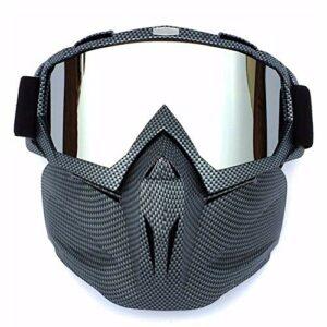 Lunettes de snowboard de ski Ski de ski hiver coupe-vent Tournettes de soleil de motocrosses de ski de neige lunettes de ski de motoneige lunettes de ski masque de ski de snowboard lunettes lunettes