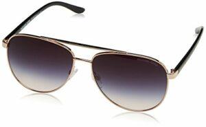 Michael Kors Hvar 109936 59 Montures de lunettes, Or (Rose Gold/Grey Rose Gradient), Femme