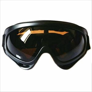 NA Lunettes de Snowboard de Ski Verres de Ski léger de Haute qualité ABS + UV400 Protection CE Protection Sport Snowboard Skate Ski (Couleur : 1)