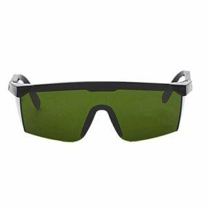 #N/V Laser Protect Lunettes de sécurité PC Lunettes de soudage Laser Lunettes de protection des yeux Unisexe Monture noire Lunettes résistantes à la lumière