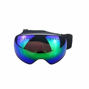RWX Lunettes De Ski Anti-ultraviolets, Lunettes De Jeunes Hommes Et Femmes, Lunettes De Ski Coupe-Vent pour Sports De Plein Air