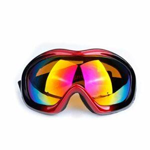 RWX Lunettes De Ski d'une Couche Professionnelle, Lunettes À Coupe-Vent pour Hommes Et Femmes, Lunettes De Ski Anti-UV Et Sable (Color : M-2)