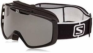 Salomon, AKSIUM, lunette de ski unisexe, taille moyenne à petite, Noir/Solar Black, L41151300