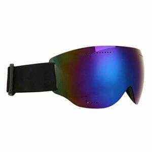 SALUTUYA Les Lunettes Coupe-Vent claires Peuvent Porter Une lentille Myope Coupe-Vent pour Les Sports de Plein air pour Le Ski(Blue)