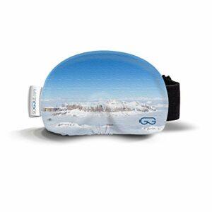 Soggle Housse de protection pour lunettes de ski en microfibre (taille unique) Couleur : photos 07 Sella
