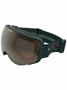 Spektrum Skutan Backman Edition Masque de Ski Vert Bouteille Taille M