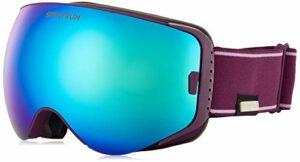 Spektrum Skutan Prune Masque de Ski Taille M