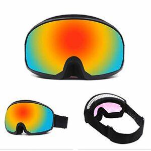 SWNN Puzzles Amovible Antibuée Lunettes De Ski Cadre Double TPU Sports d'hiver Hommes Et Femmes D'extérieur Escalade Equipement Cadeau Myopie