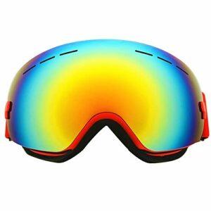 SWNN Puzzles Anti-buée Cadre Lunettes De Ski TPU Grande Sphérique Cocker Myopie Sports d'hiver Équipement Cadeaux d'escalade en Plein Air for Les Femmes Hommes