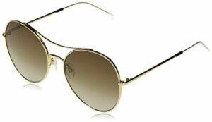 Tommy Hilfiger TH 1668/S lunettes de soleil, Brun Or, 59 Femme