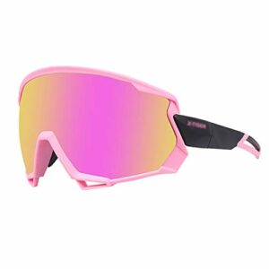 xxffyy Lunettes de Soleil de Sport Lunettes de Soleil de Cyclisme, Protection UV Lunettes de Soleil de Cyclisme Lunettes de Sport de vélo, pour Courir Baseball Golf