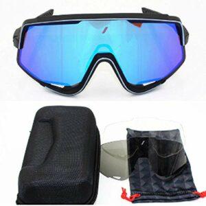XXYQ Lunettes de Soleil de vélo de Sport en Plein air polarisées Hommes Lunettes de vélo de VTT Eyewear-Glendale_5