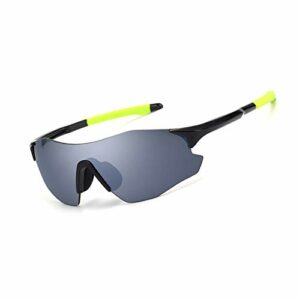 ZTCWS Lunettes De Soleil Cyclisme pour Polarized Hommes Et Femmes, UV400 Vélo Sports Lunettes TR90 Cadre pour La Pêche Base-Ball Conduite Cyclisme Course À Pied Golf Moto,A