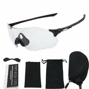4 pièces/ensemble lunettes de cyclisme de protection UV hommes et femmes sports de plein air course coupe-vent équitation VTT équipement 棗 rouge? Vélo accessoires